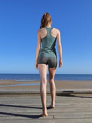yoga workout running tank tops