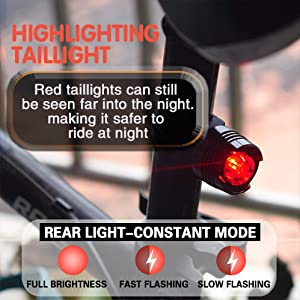 mountain bikes light usb rechargeable bicycle cycle cycling cyclist gifts for men