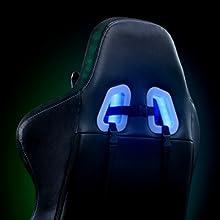 gaming chair RGB GAMING rgb led gaming office chair computer gaming chair gaming chair with footrest