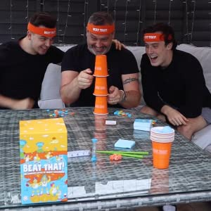 Beat That! Adult Party Games Gifts for Dad