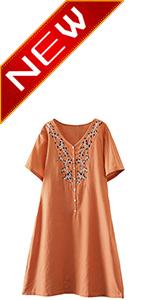linen dress women