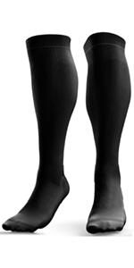 Black Compression Socks for Men Women