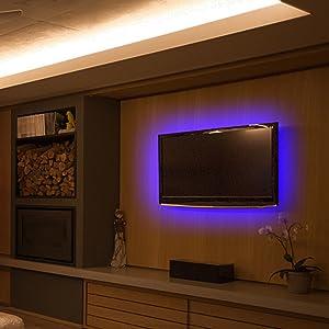 TV background light