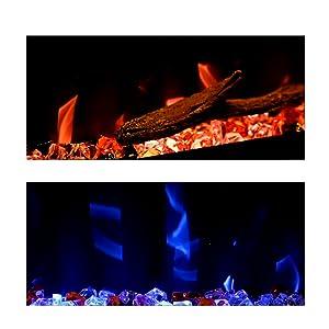 Faux Fire Log Set