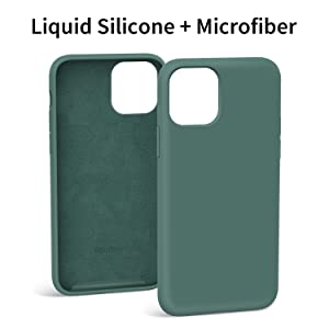 Danbey 12211 silicone case iphone 11 pro pine green