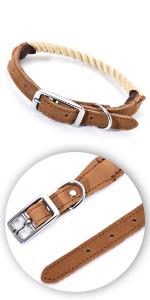 Premium Cotton Rope Dog Collar