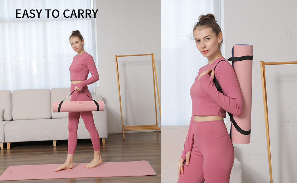yoga mat with carrying bag yoga mat with strap