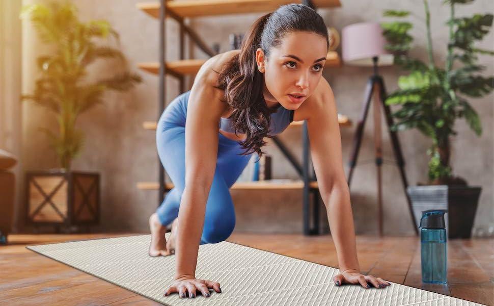Feetlu 6MM Yoga Mat-Recycled