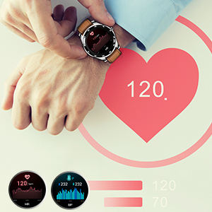 Rogbid GT Smartwatch Heart Rate monitor
