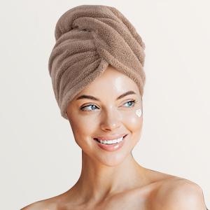 hair hair towel microfiber towel turbans for women hair wraps for women accessories for women