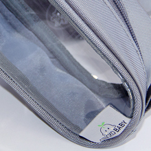 Product shot - Diaper bag organization - Thick clear PVC sides