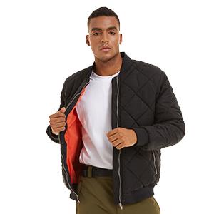 jackets for men fashion casual outdoor performance hiking travel bomber varsity coat