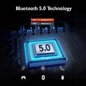 earphone 5.0 bluetooth