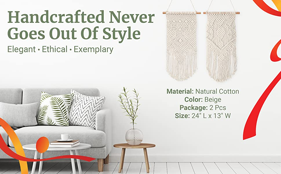 Handcrafted Things Never Go Out Of Style. Elegant. Ethical. Exemplary