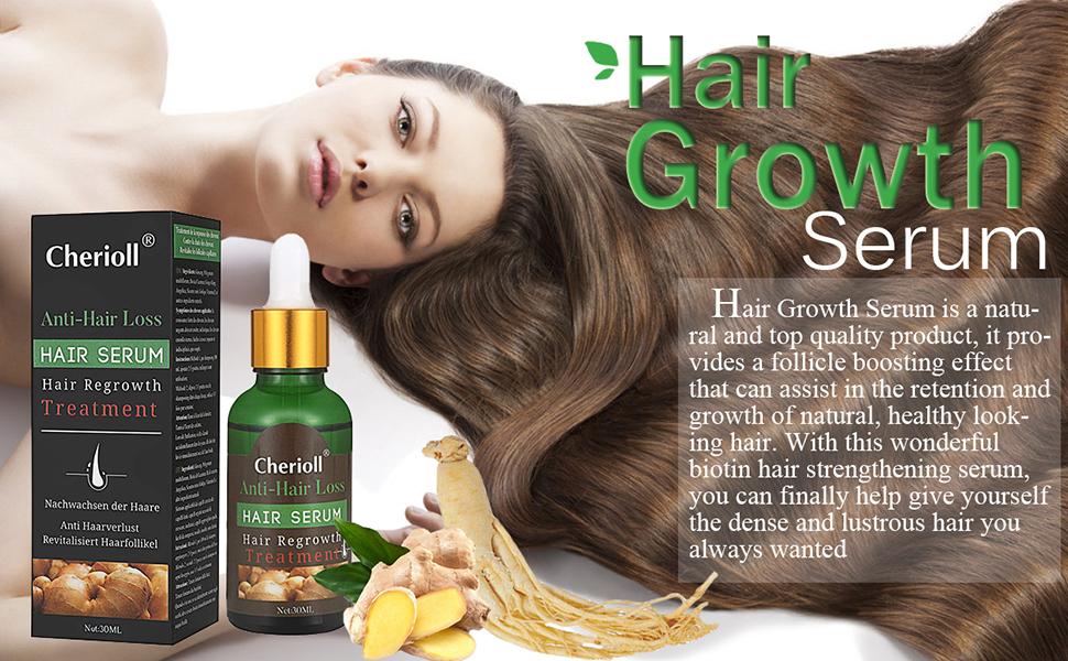 Amazon Com Hair Growth Serum Hair Loss Hair Thinning Treatment Hair Serum Stimulates New Hair Growth Promotes Thicker Fuller And Faster Growing Hair Beauty