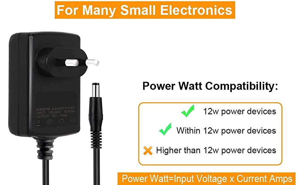 12V 1.5A Power Supply Adapter for Set Top Box