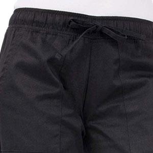 Black Classic Chef Pants