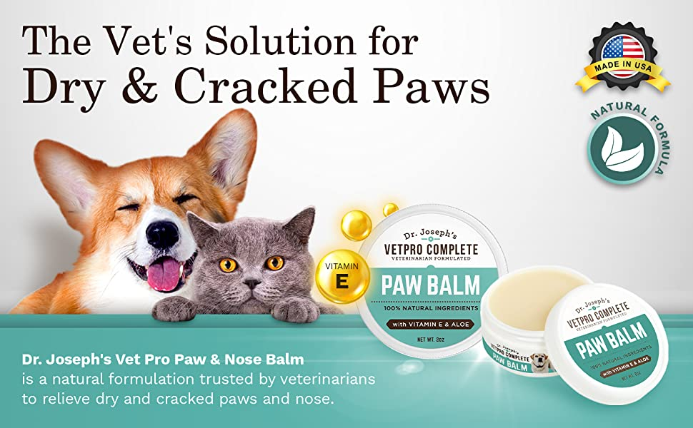 Paw Balm For Dogs and Cats Veterinarian recommended