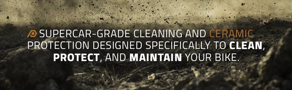 Supercar-Grade Cleaning and Ceramic Protection for your Bike
