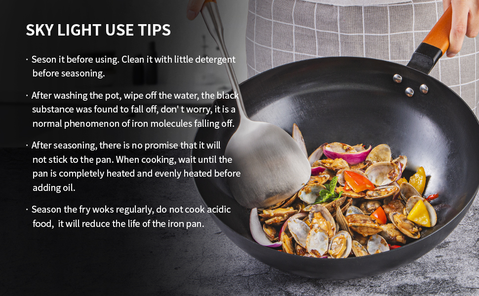 iron wok