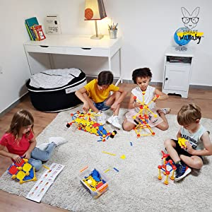 creative building toys for kids