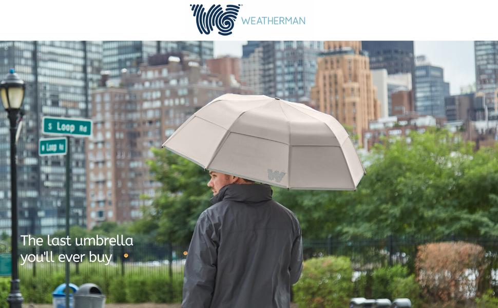 weatherman umbrella header