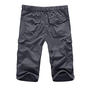 men's workout shorts mens 3/4 pants sweat shorts for men mens capri pants gym casual shorts for men