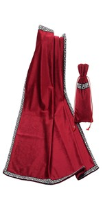 Red Tarot Table Cloth