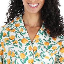 Cotton Poplin Pajama Set