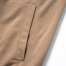 Elastic Adjustable waist with built-in drawstring to fit any body form
