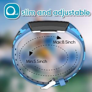 slim smart watches pedometer fitbit ace step counter calorie watch gift garmin vivofit jr 2 age 5-16