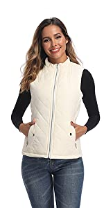 white vest for women