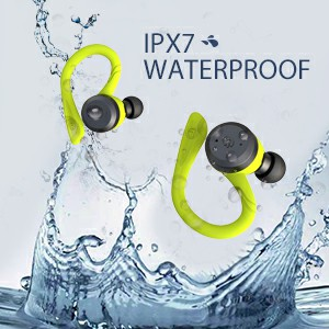 IPX7 waterproof earbuds