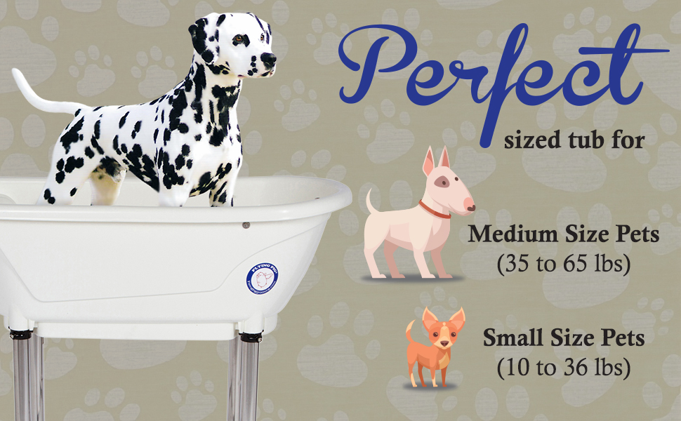 Flying Pig Grooming Dog Pet Cat Bath Tub Wash Station