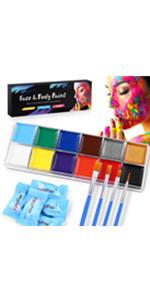 face body paint
