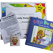 toilet training, potty training book, stickers, star chart