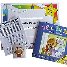 toilet training, potty training book, stickers, star chart