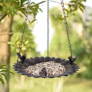 Comedero colgante para p/ájaros 1 L SONGJOY estaciones de comederos de aves de pl/ástico alimentadores para p/ájaros silvestres comederos de semillas de jard/ín con techo impermeable