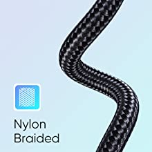 UGREEN USB Type C Cable Nylon Braided USB A to USB C Fast Charger