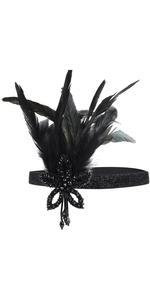 Metme 1920s Flapper Headband
