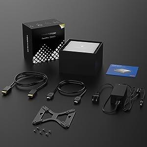 DMAF5 Mini PC Couputer AMD Ryzen 3 3300U Windows 10 Mini PC Desktop Computer