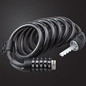 cable coil bike lock