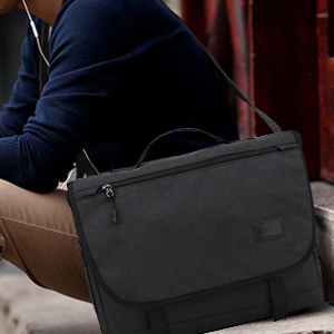 Nylon Messenger Bag