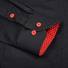 dress shirt slim fit wrinkle free hard to find good quality collar stays great shirt even though