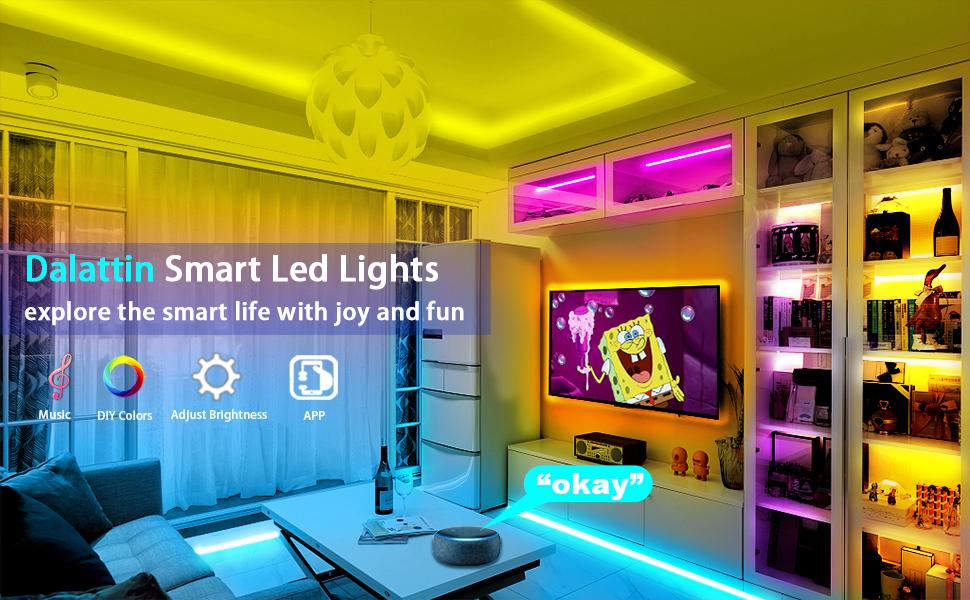 led lights for bedroom bluetooth