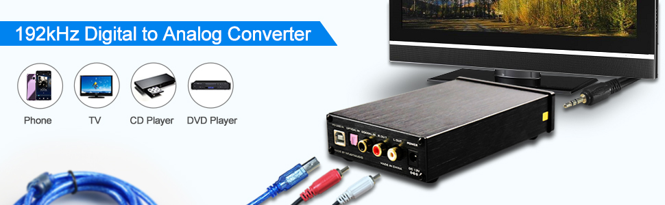 dac converter with volume control