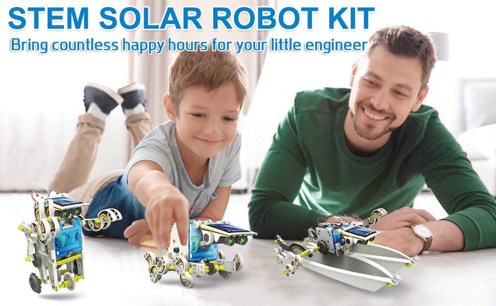 diy solar robot kit