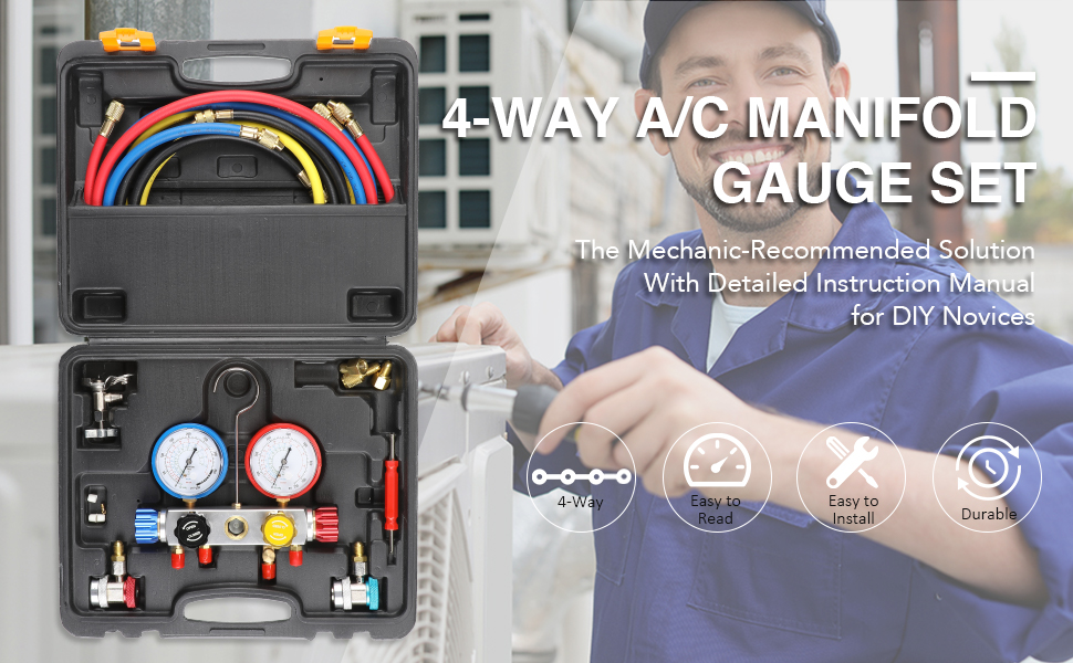 ac gauges set