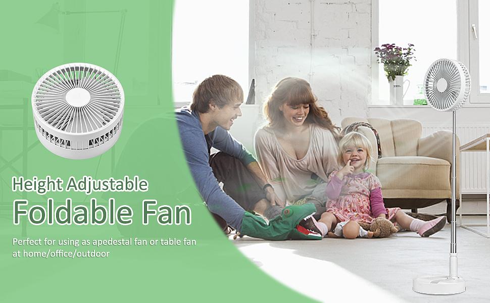 portable standing fan