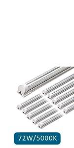 LED Shop Light Led Tube Light Fixture LED Integrated Single Fixture LED Ceiling Cabinet Lights